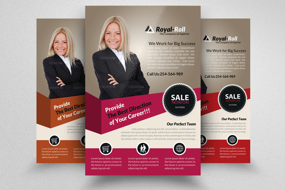 6 Creative Business Flyers Bundle example image 2