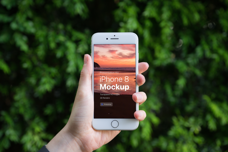Presentation Kit - iPhone showcase Mockup_v8 example image 3