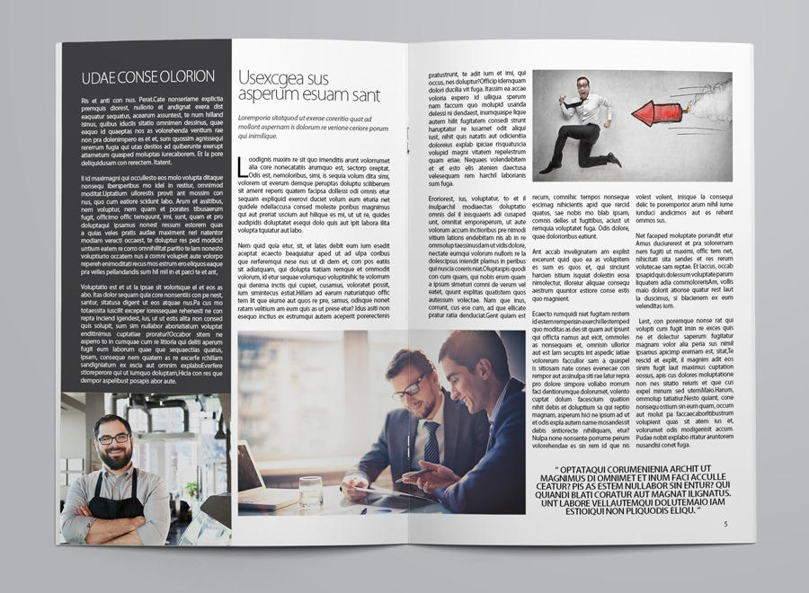 Business Newsletter Template example image 5