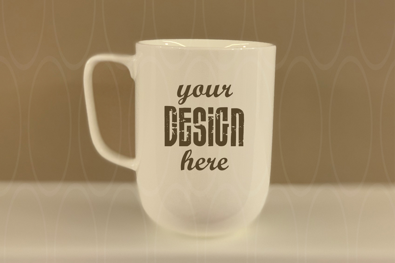 Blank Coffee Glass Cup Mockup Mug Photo Graphic Design example image 1