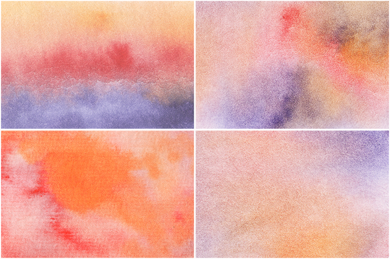 50 Watercolor Backgrounds 04 example image 15