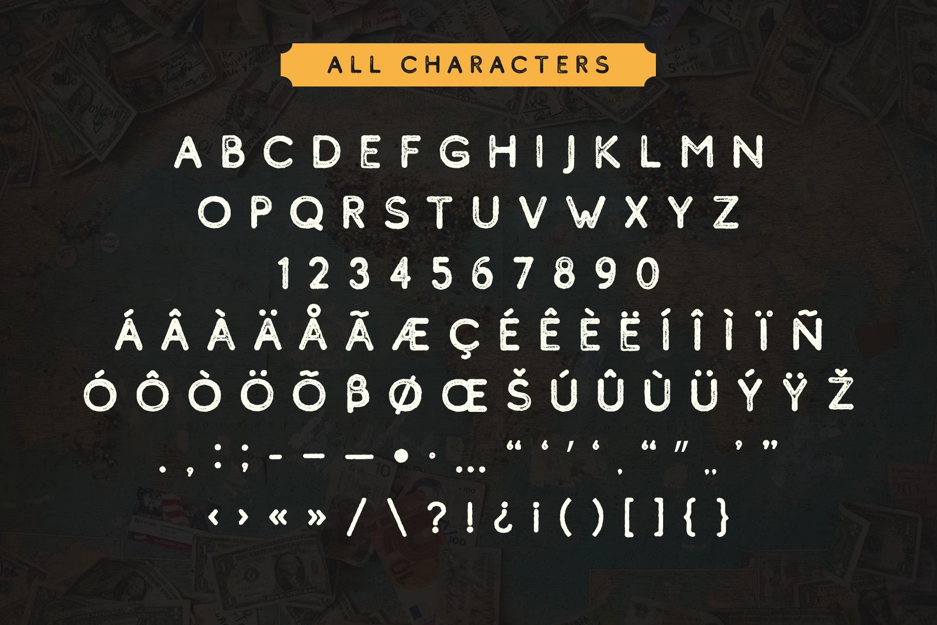 Comodo Font Family BONUS Illustrations example image 7