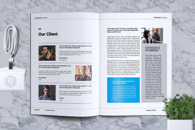 YOURBRAND - Company Profile Brochure