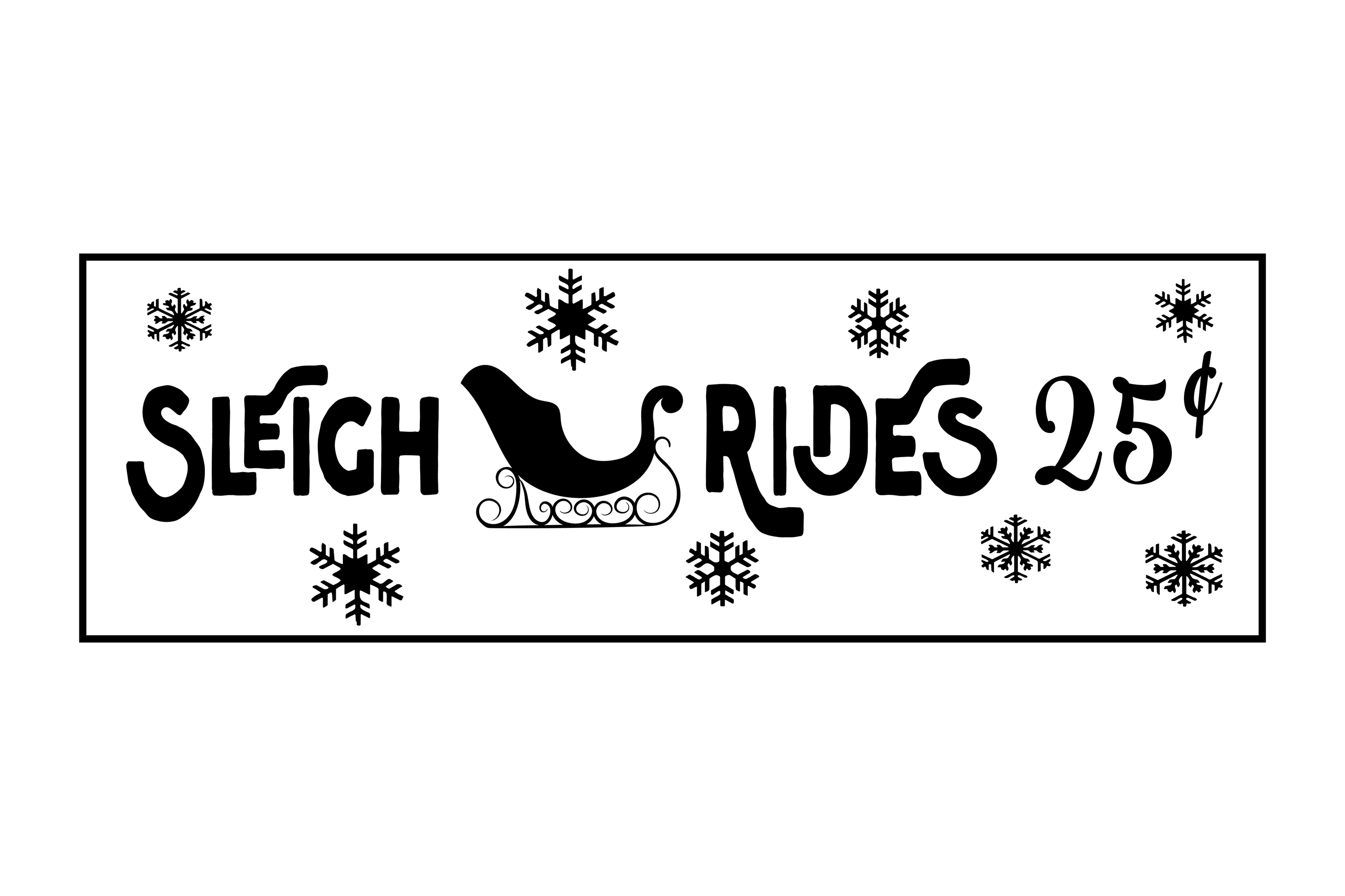 Christmas Porch Sign Bundle example image 24