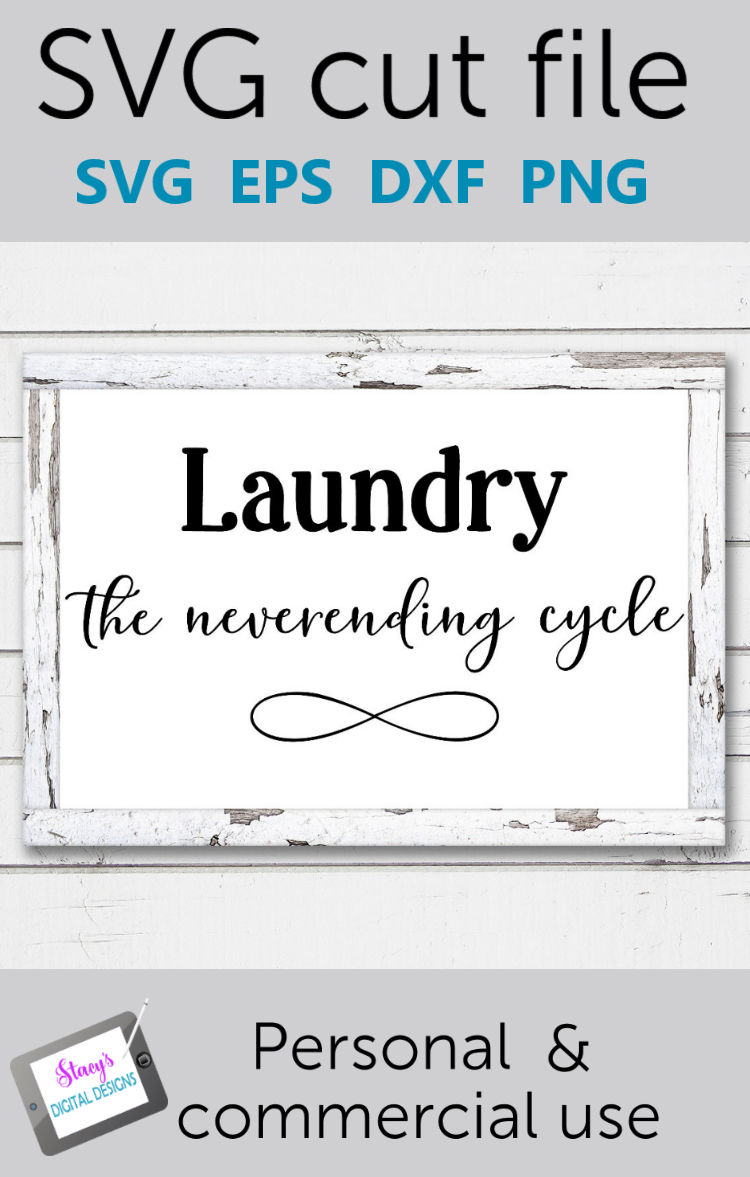 Laundry SVG - Laundry, the neverending cycle example image 2