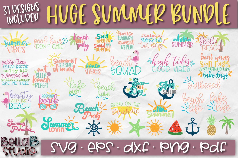 Summer SVG Bundle, Huge Summer SVG Bundle example image 1