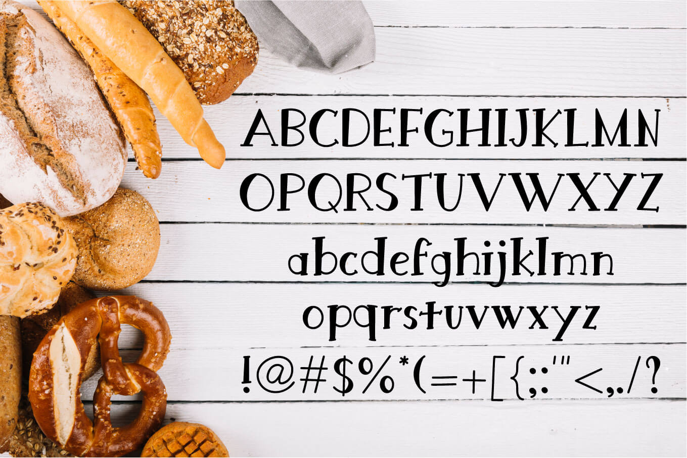 Bread King Font example image 2