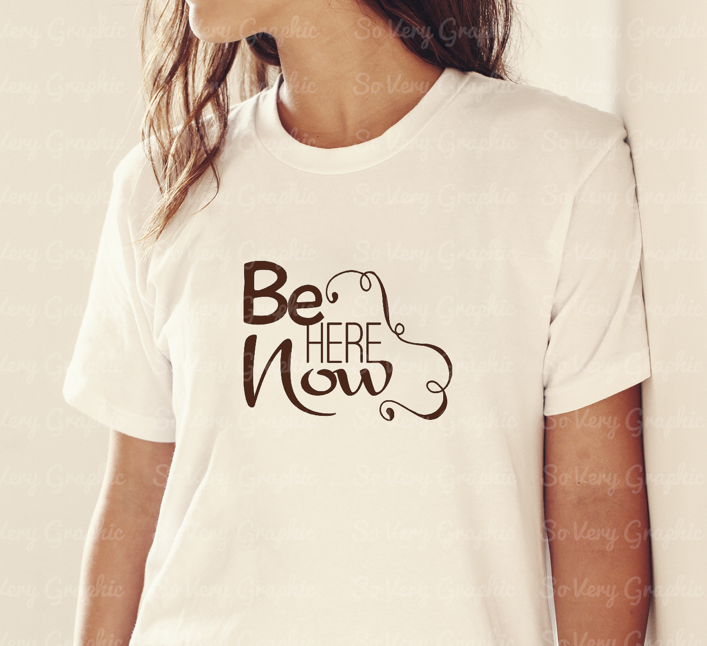 Be Here Now   Cutting & Printing File   SVG   PNG example image 3