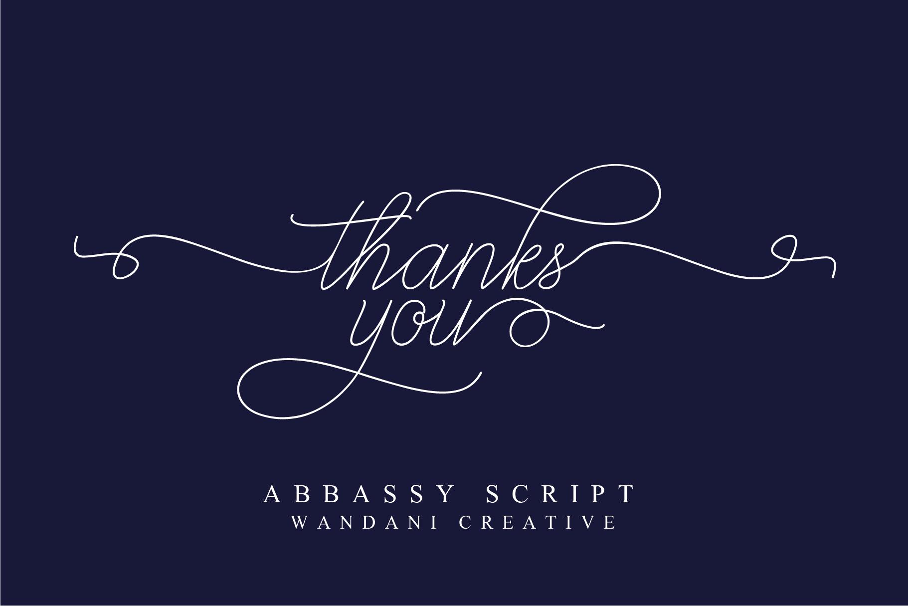Abbassy Script example image 11