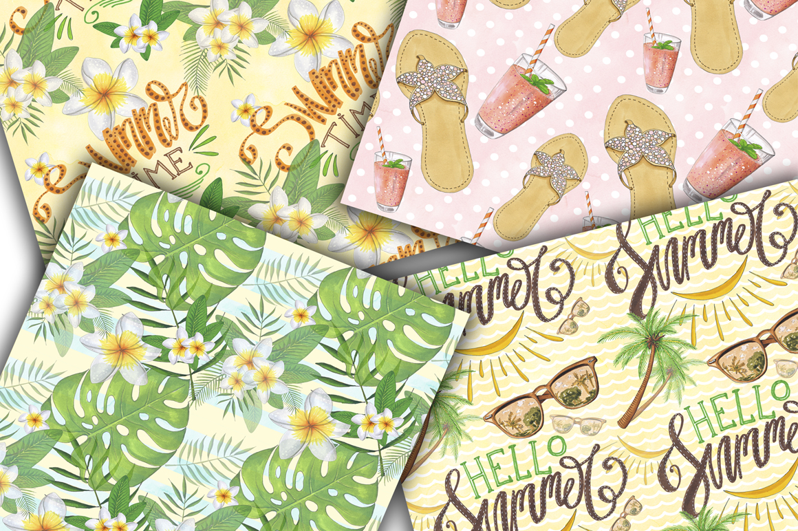 Summer Time Hand-painted Collection example image 7