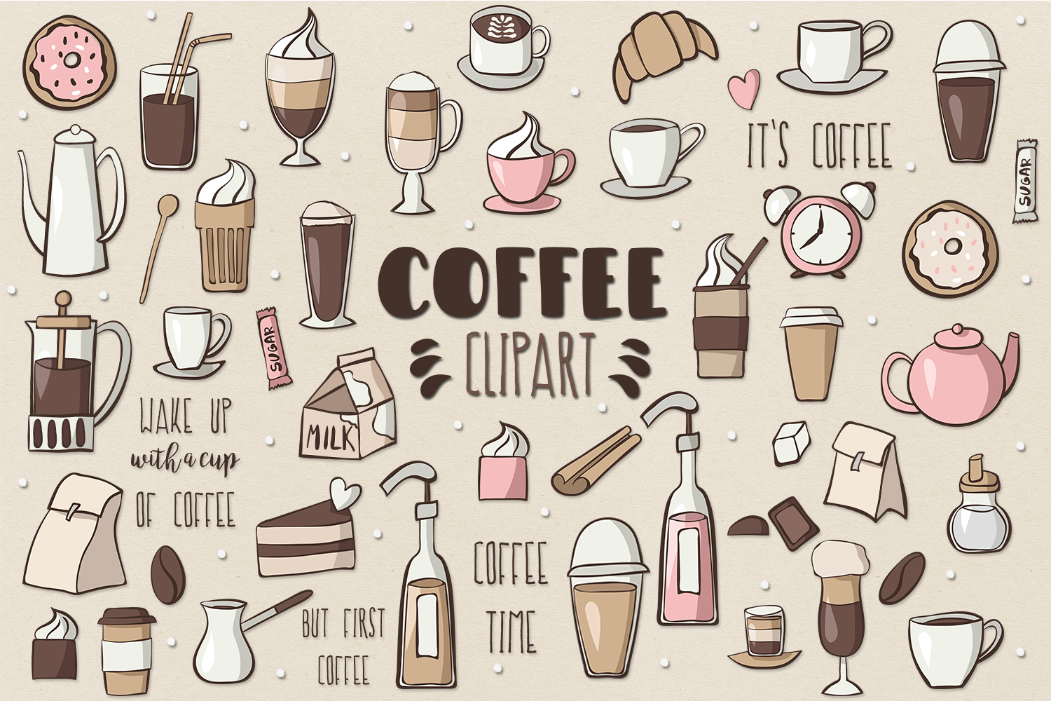 Coffee Clipart example image 1