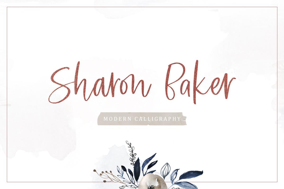 Sharon Baker - Modern Script example image 1