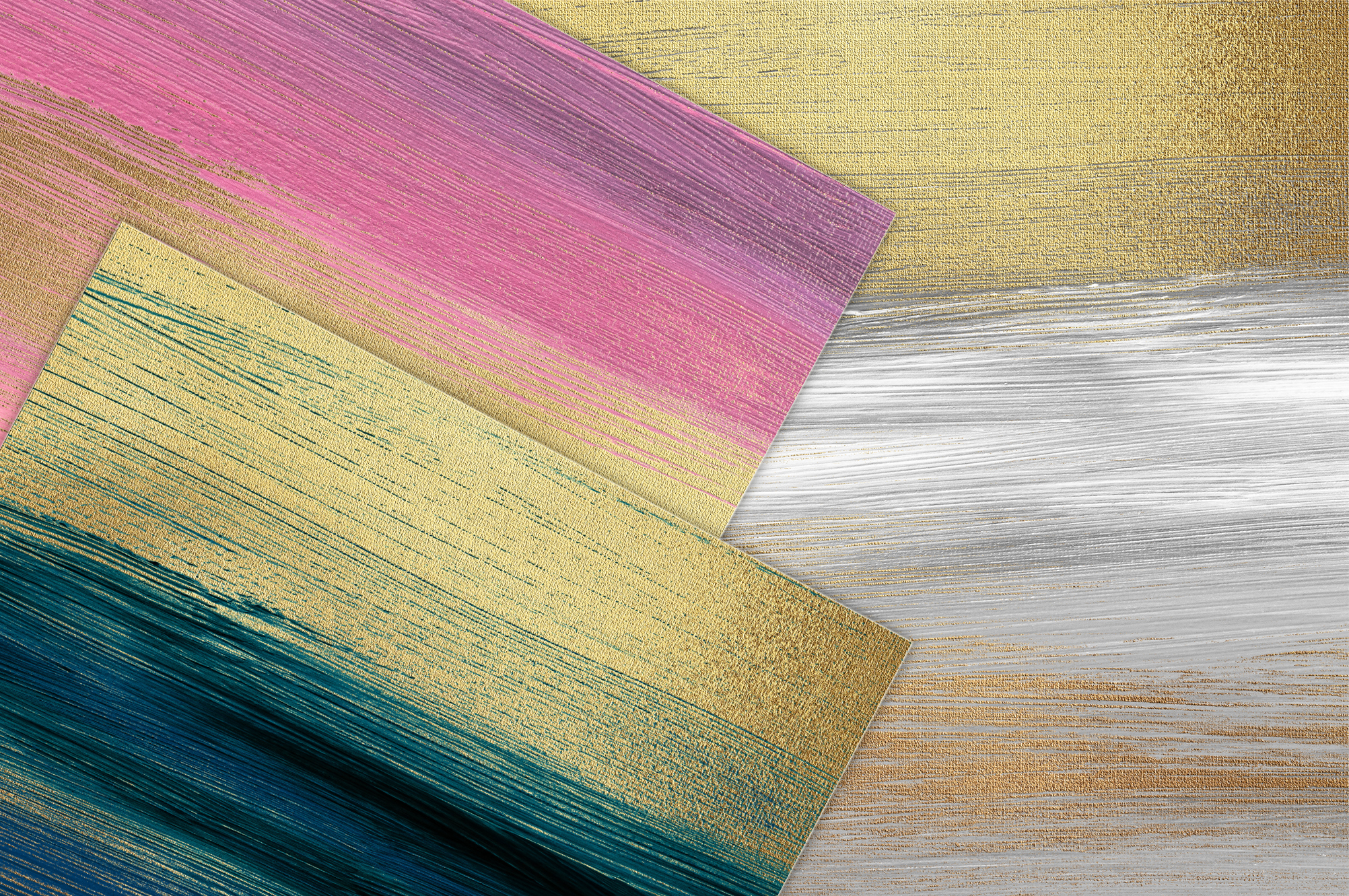 Gold Oil Paint Backgrounds example image 12