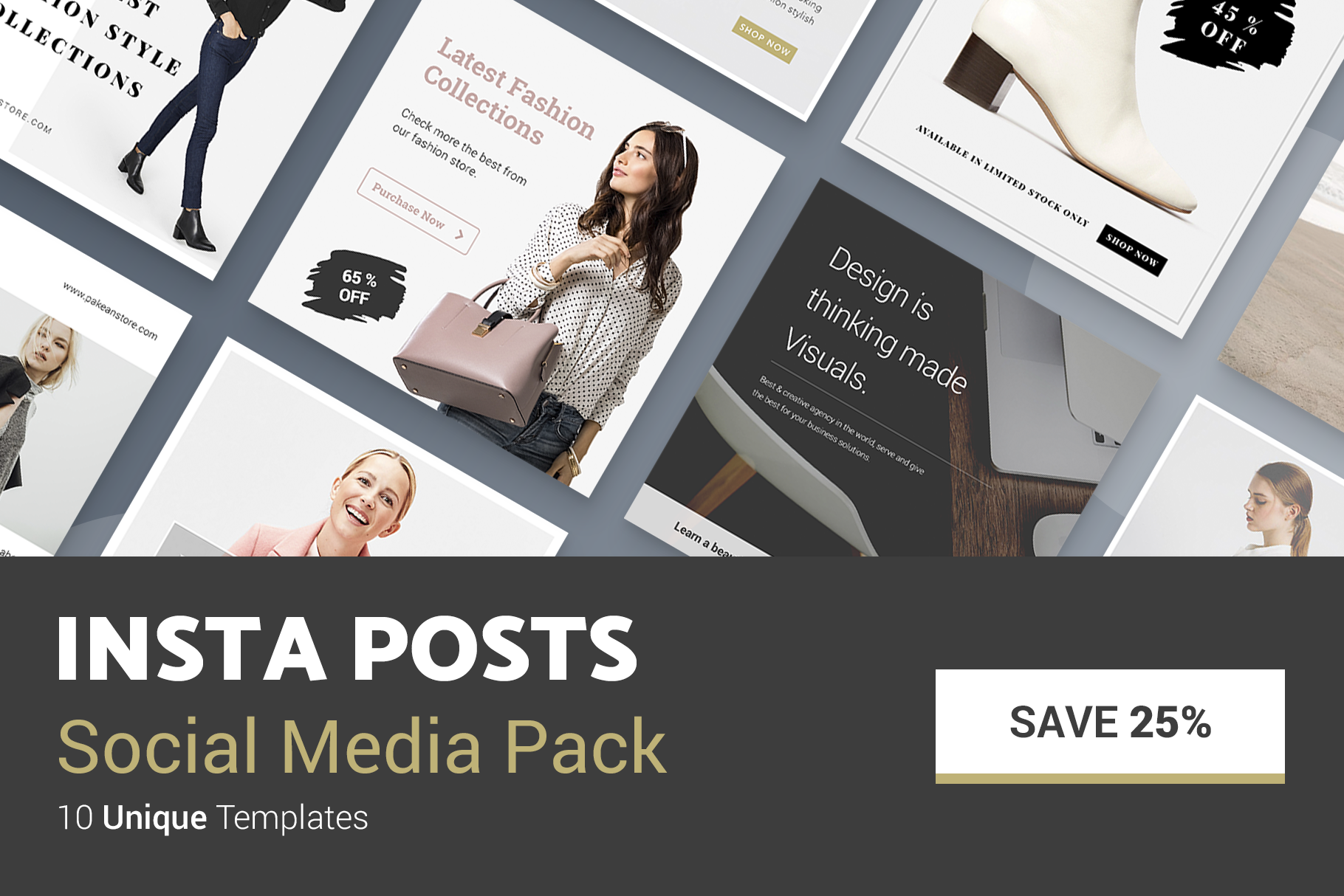 Minimal Social Packs v. 01 example image 12