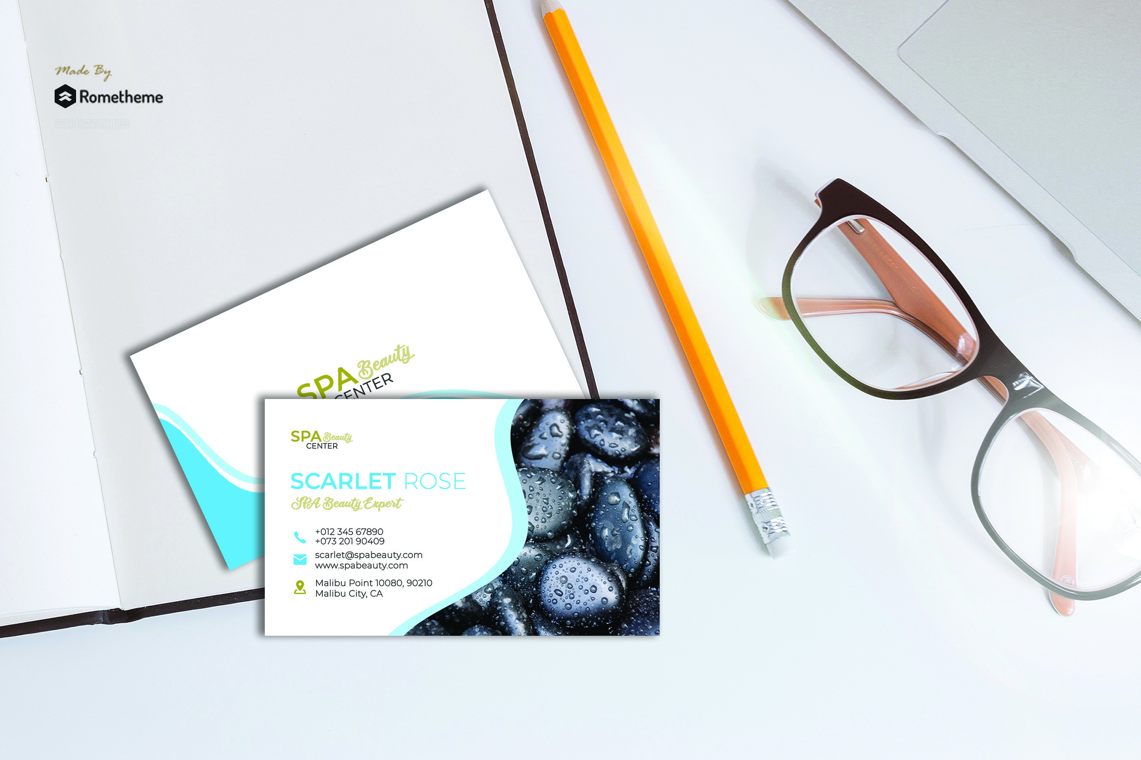 Business Card vol. 15 example image 1