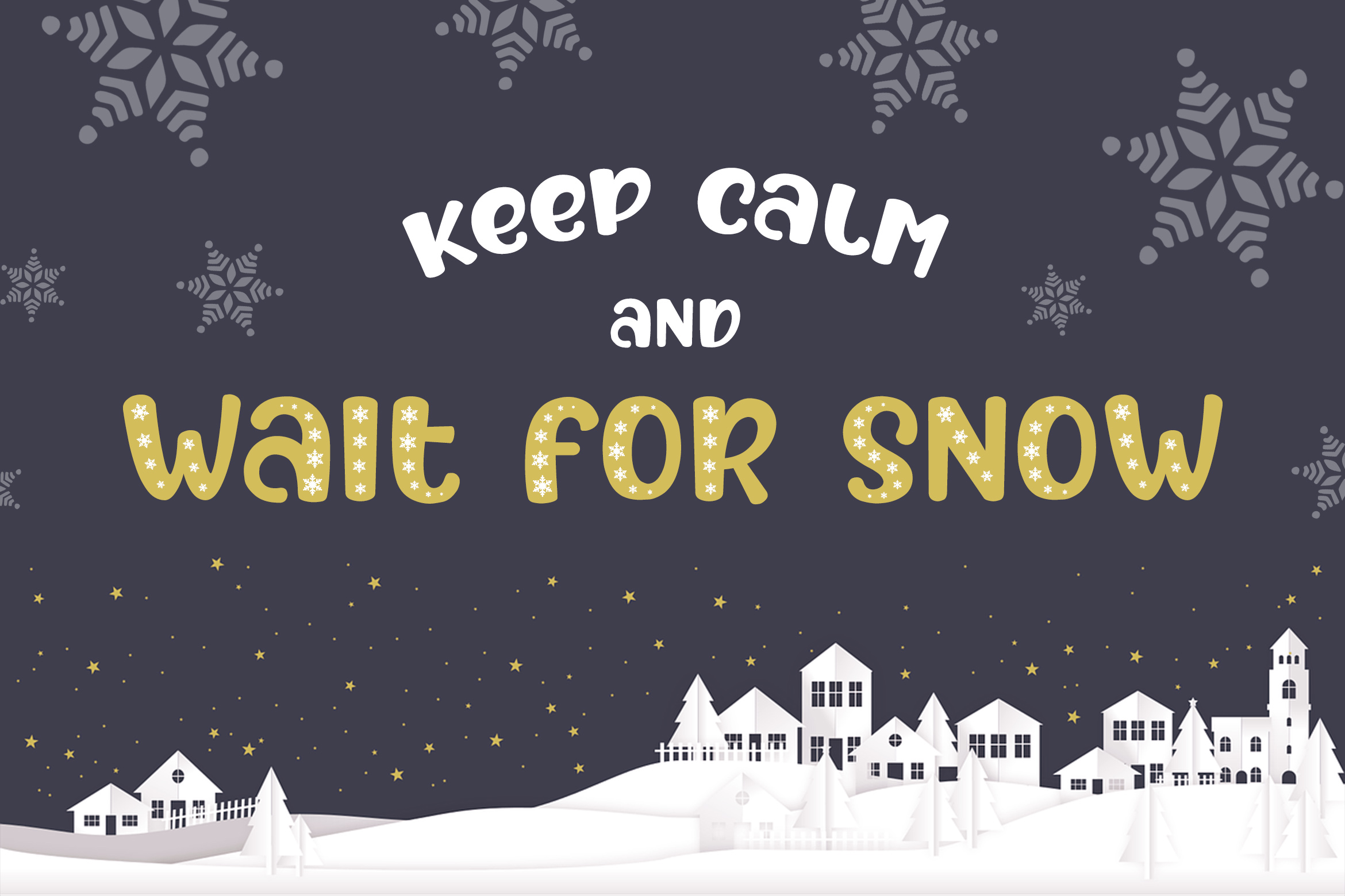 After Fall Winter and Xmas Font example image 9