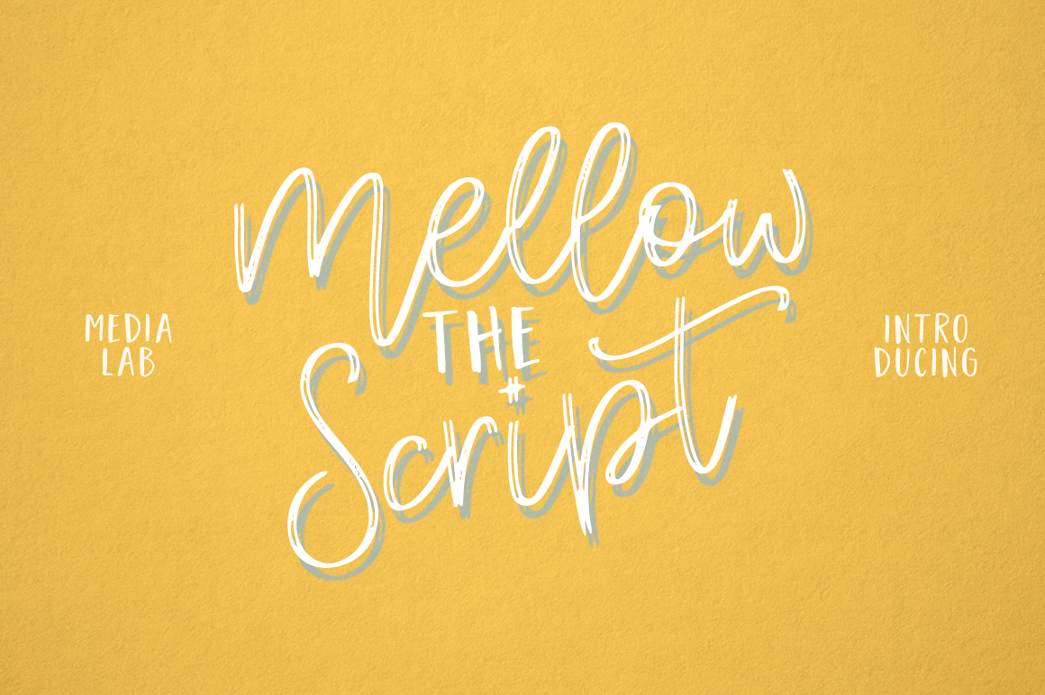 Mellow Script example image 6