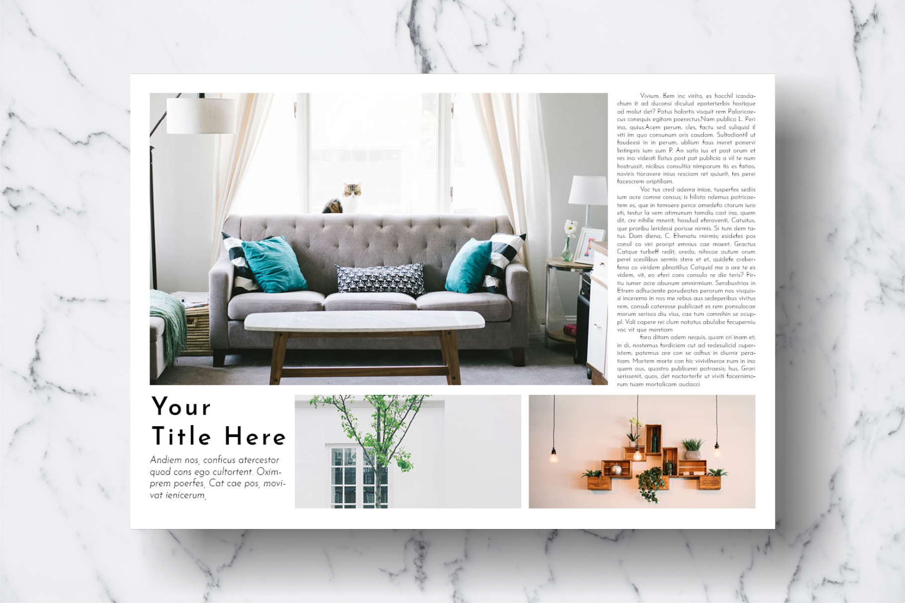Magazine Template Vol. 16 example image 7