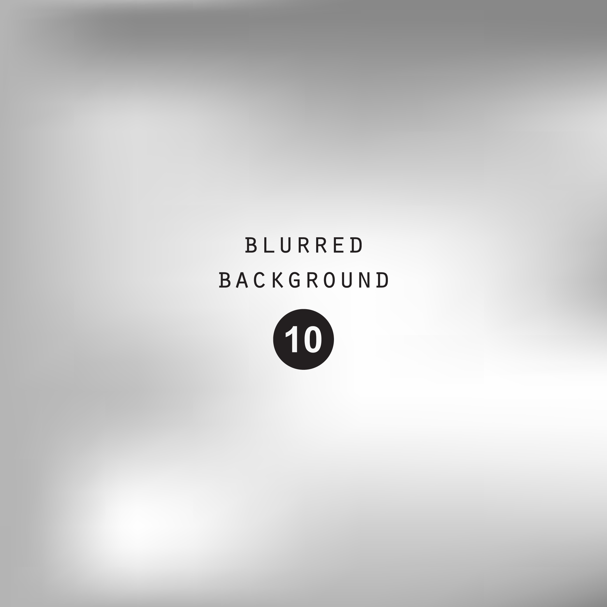 Blurred silver abstract gradient background example image 7