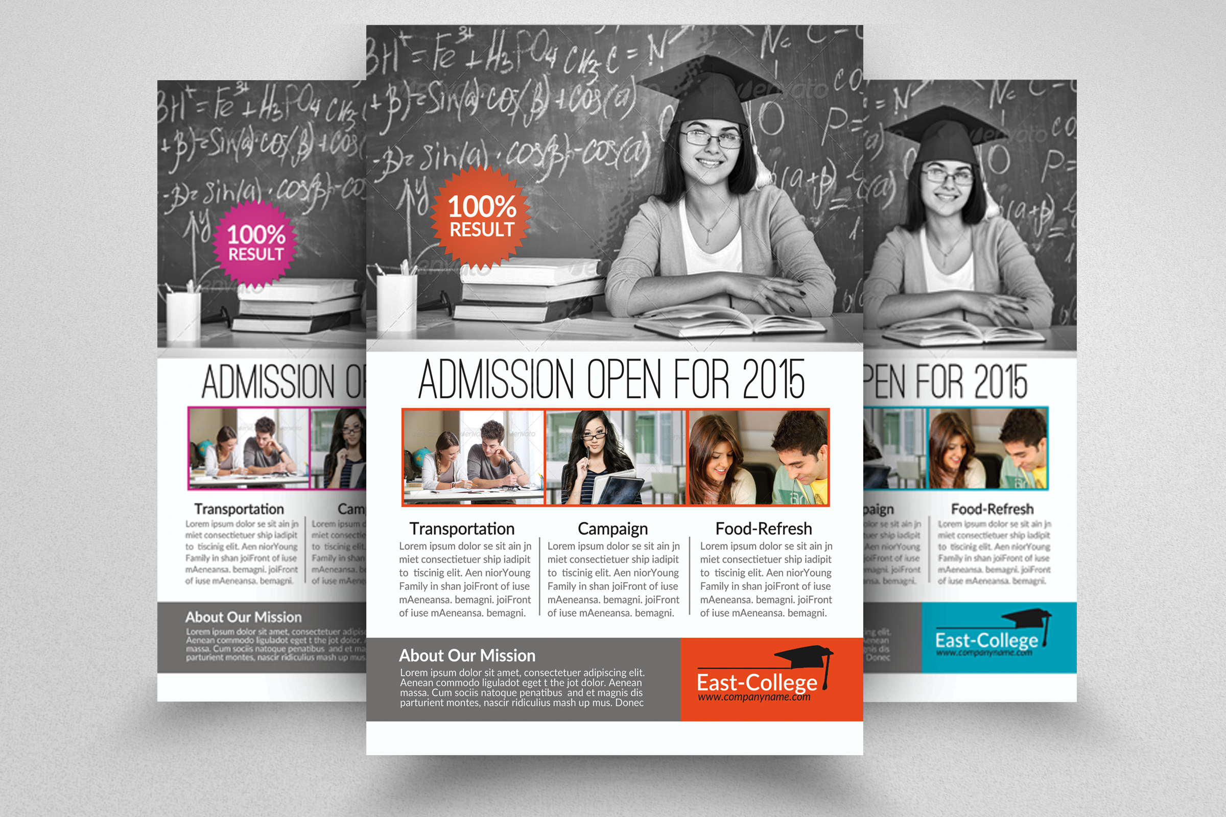 6 School Education Flyers Bundle example image 4