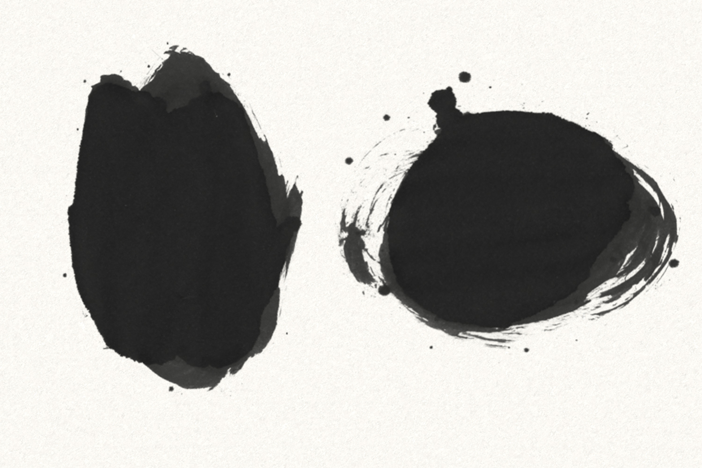 30 Gofe Ink Photoshop Brushes example image 3