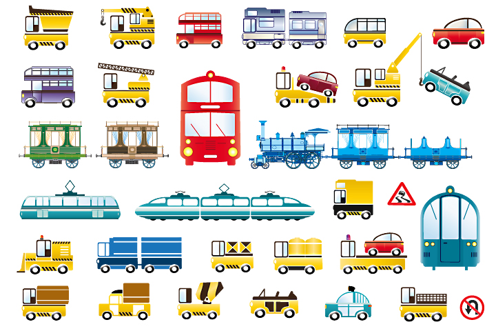 Set of vector cars example image 4