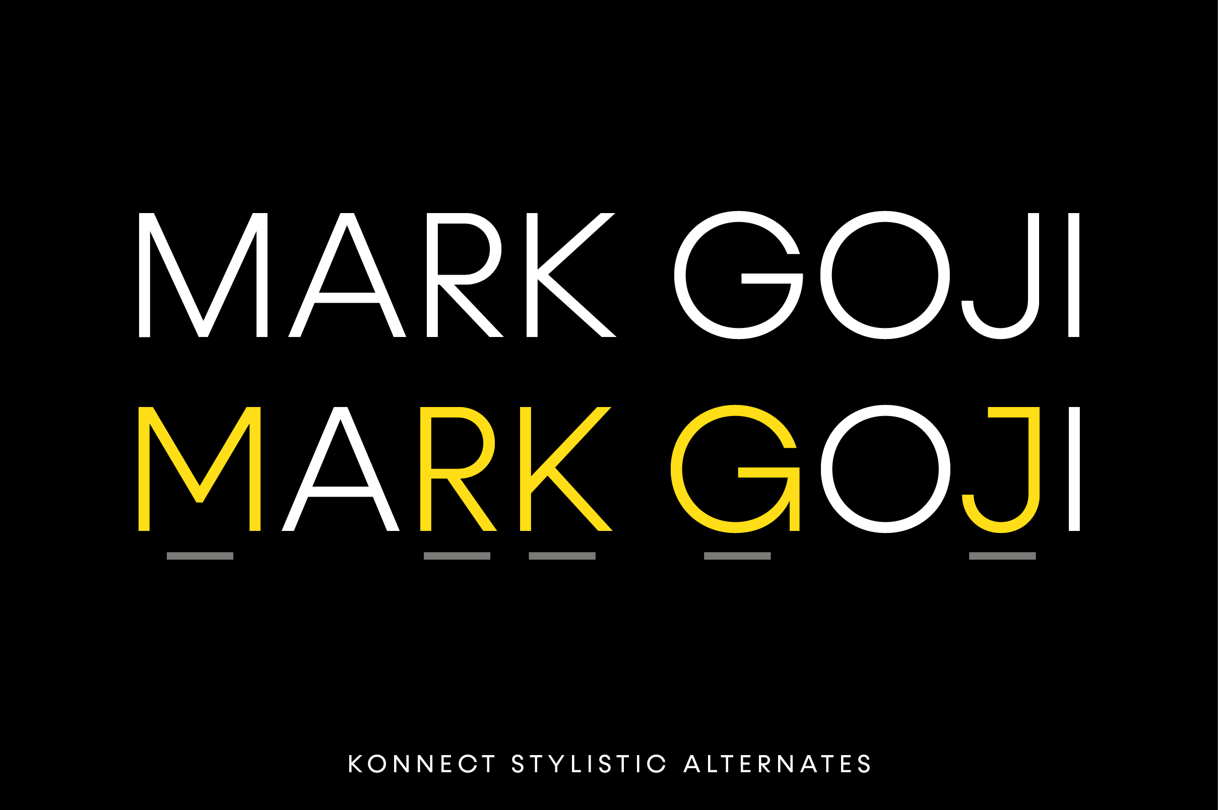 Konnect Font Family example image 9