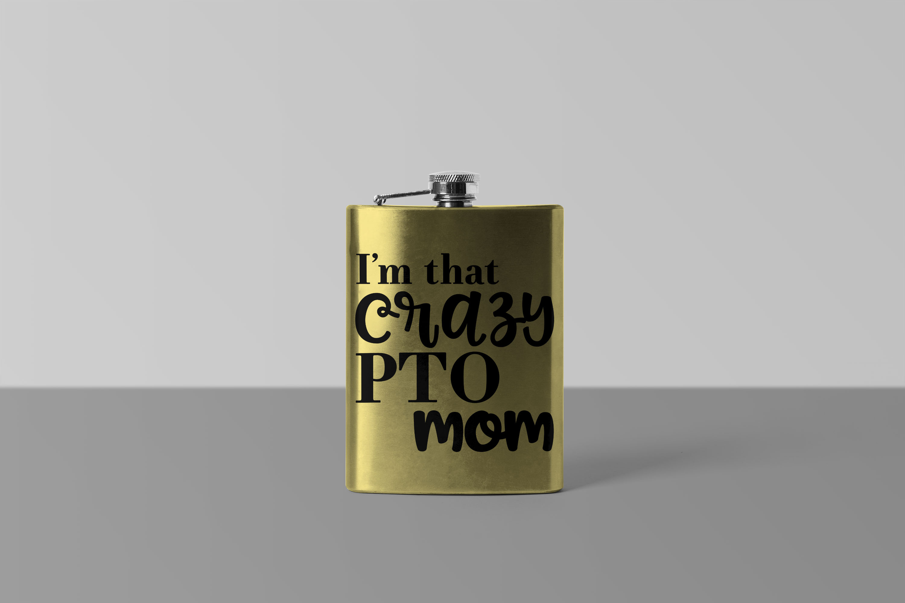 I'm that crazy PTO mom SVG PDF JPEG PNG sarcastic funny example image 2