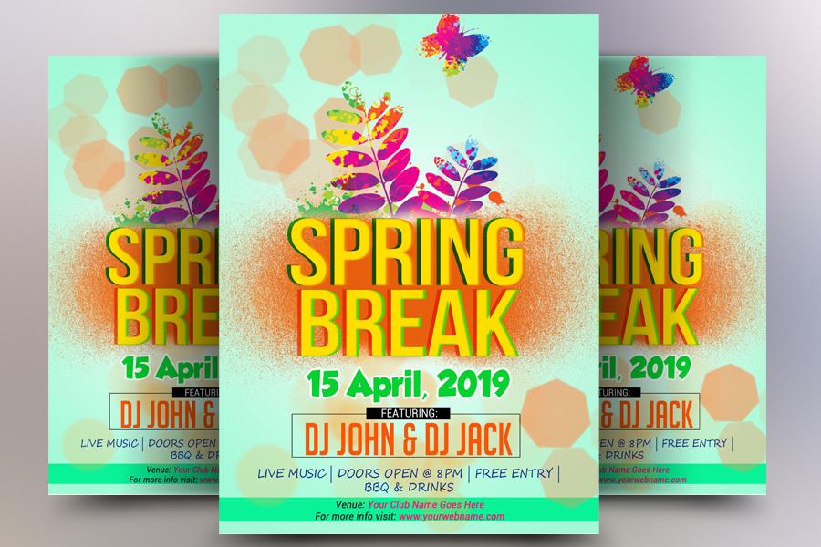Spring Break Flyer example image 1