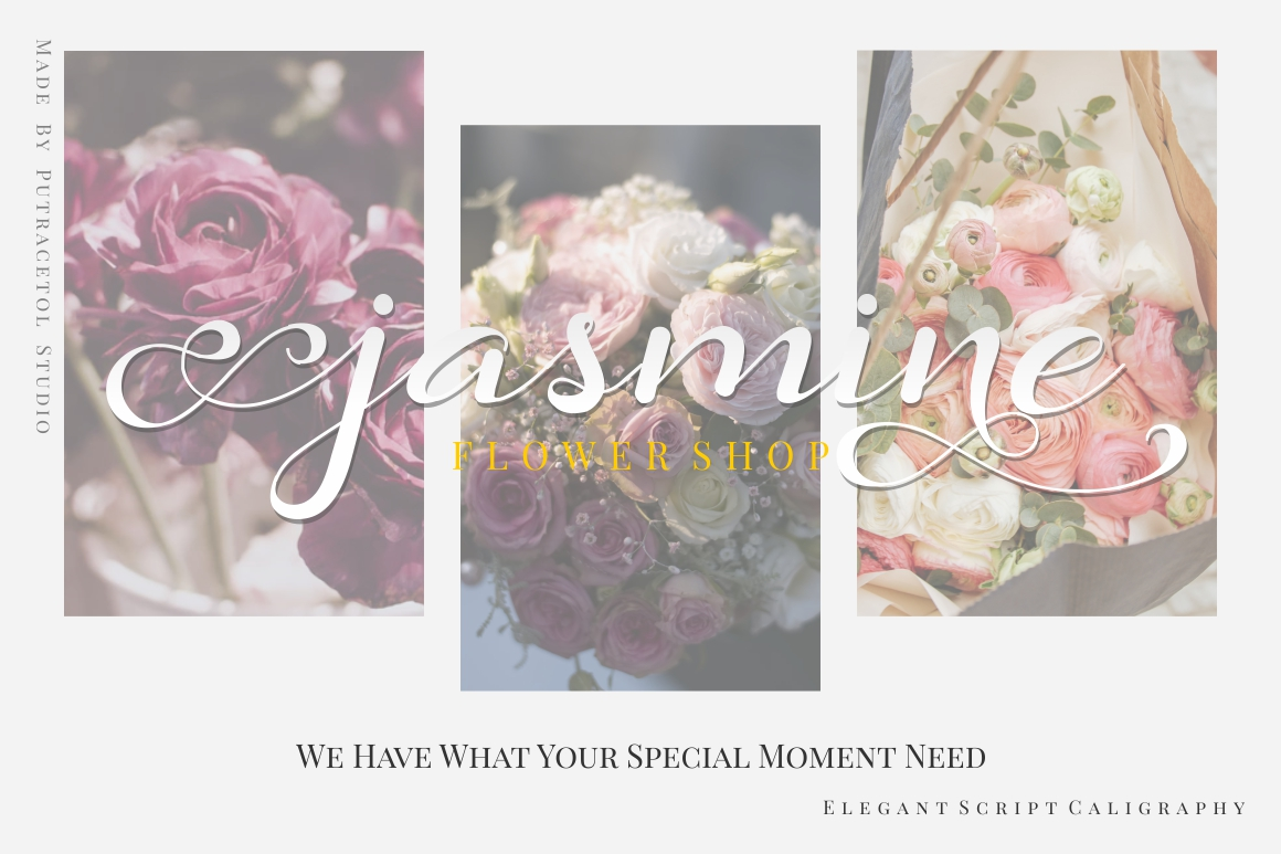 Daysha - Wedding Font example image 8