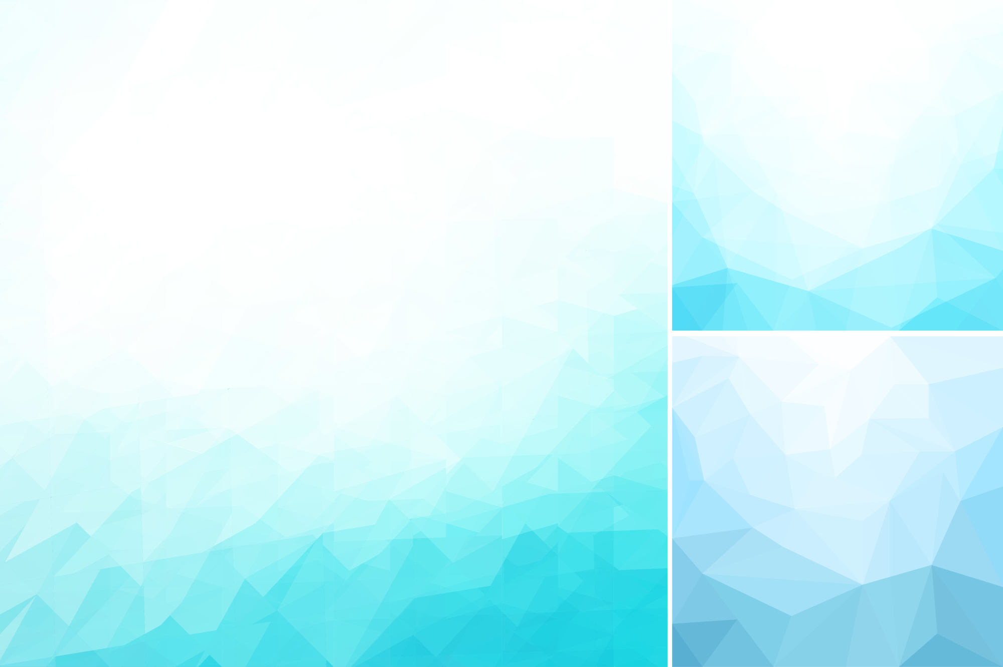 Blue abstract geometric backgrounds. example image 4