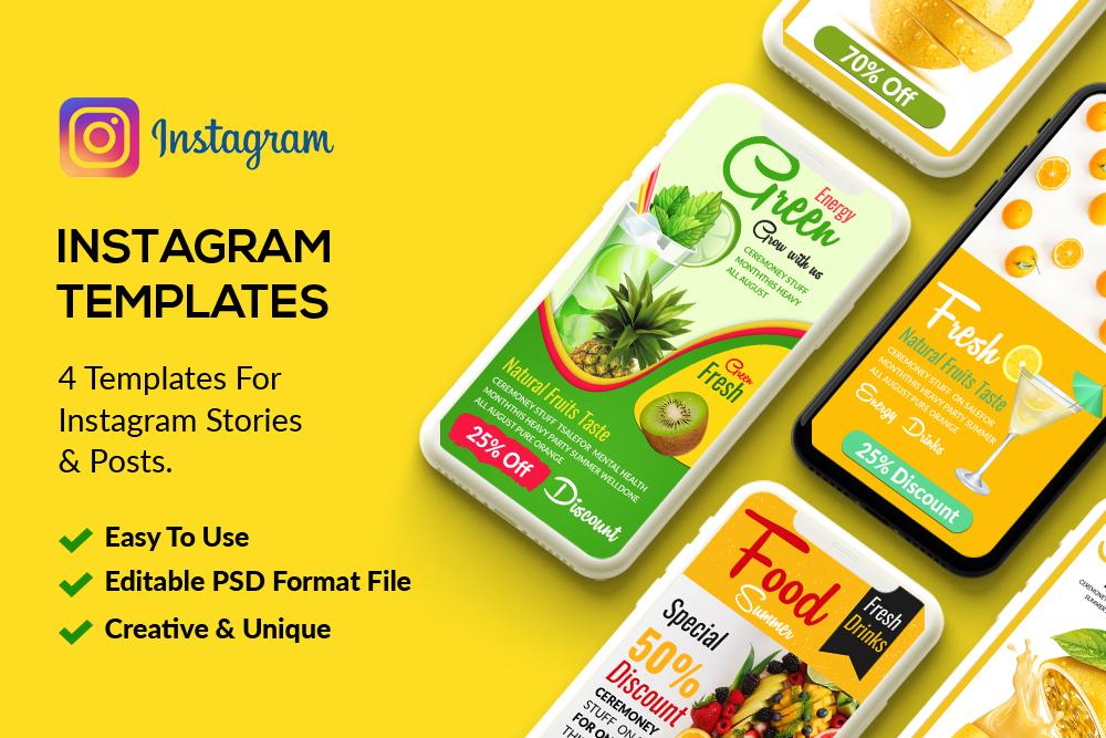 4 Instagram Stories - Food & Drink example image 1