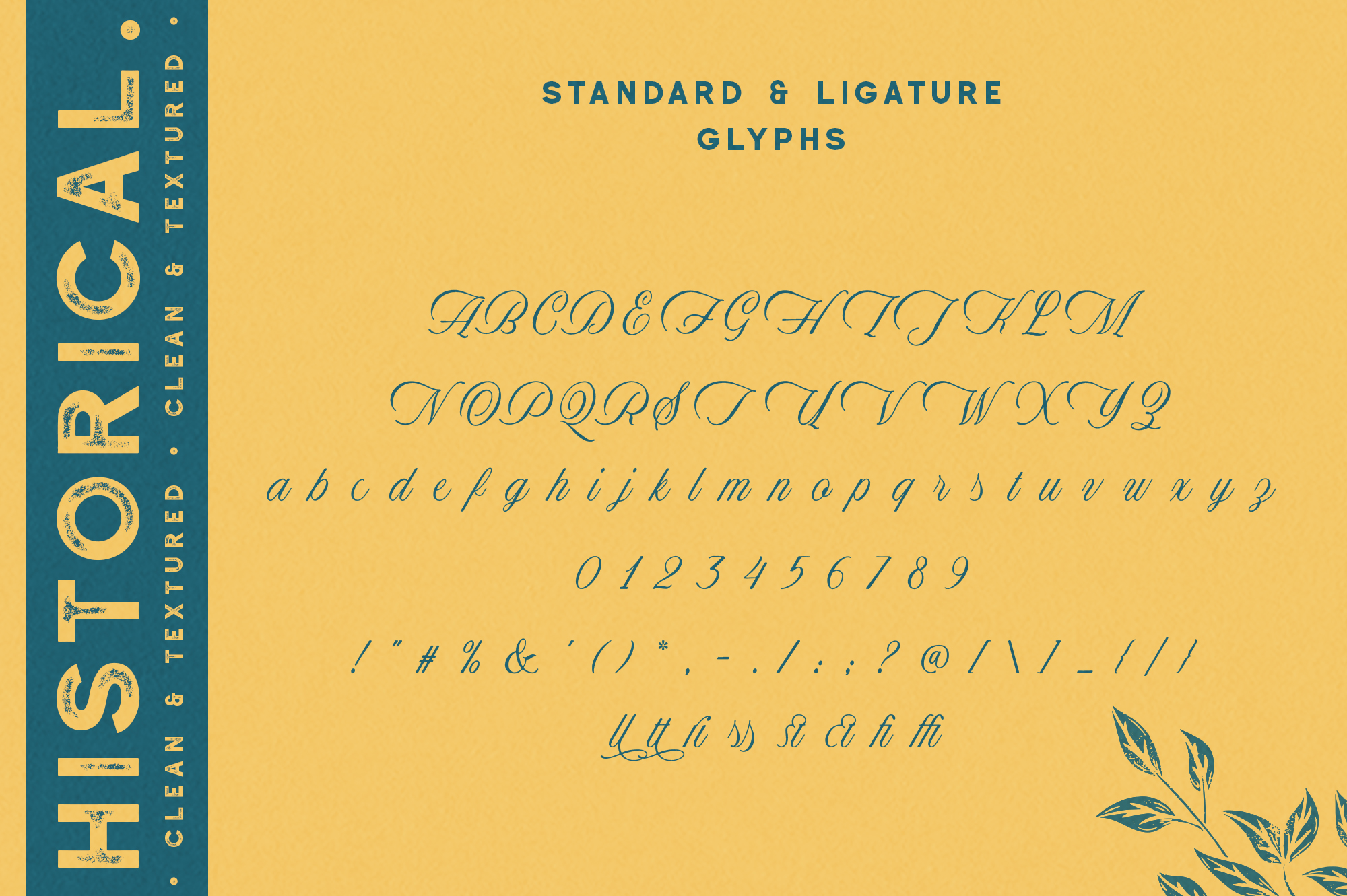 Historical - Handdrawn Font example image 10