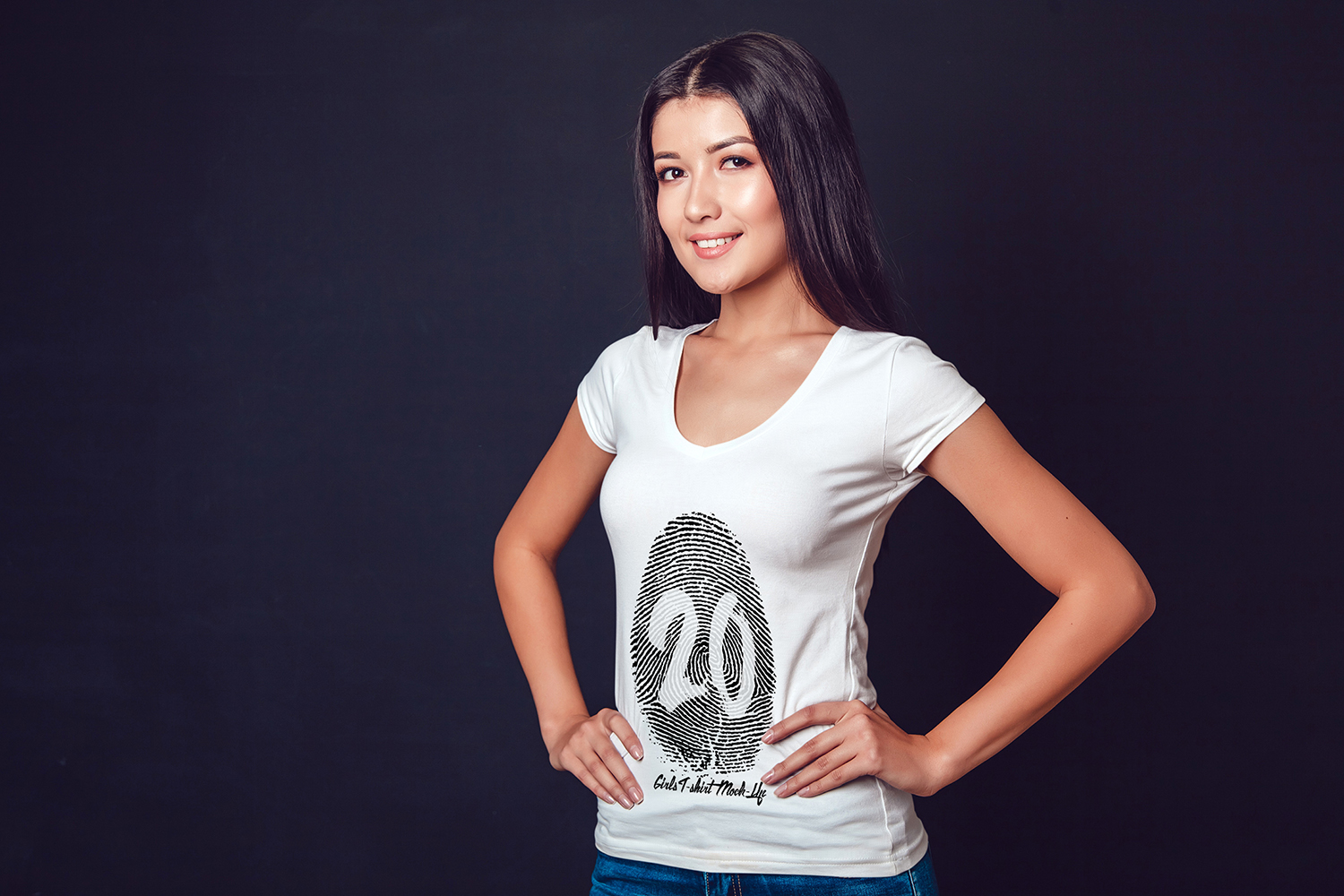 20 Top Girls T-Shirt Mock-Up example image 24