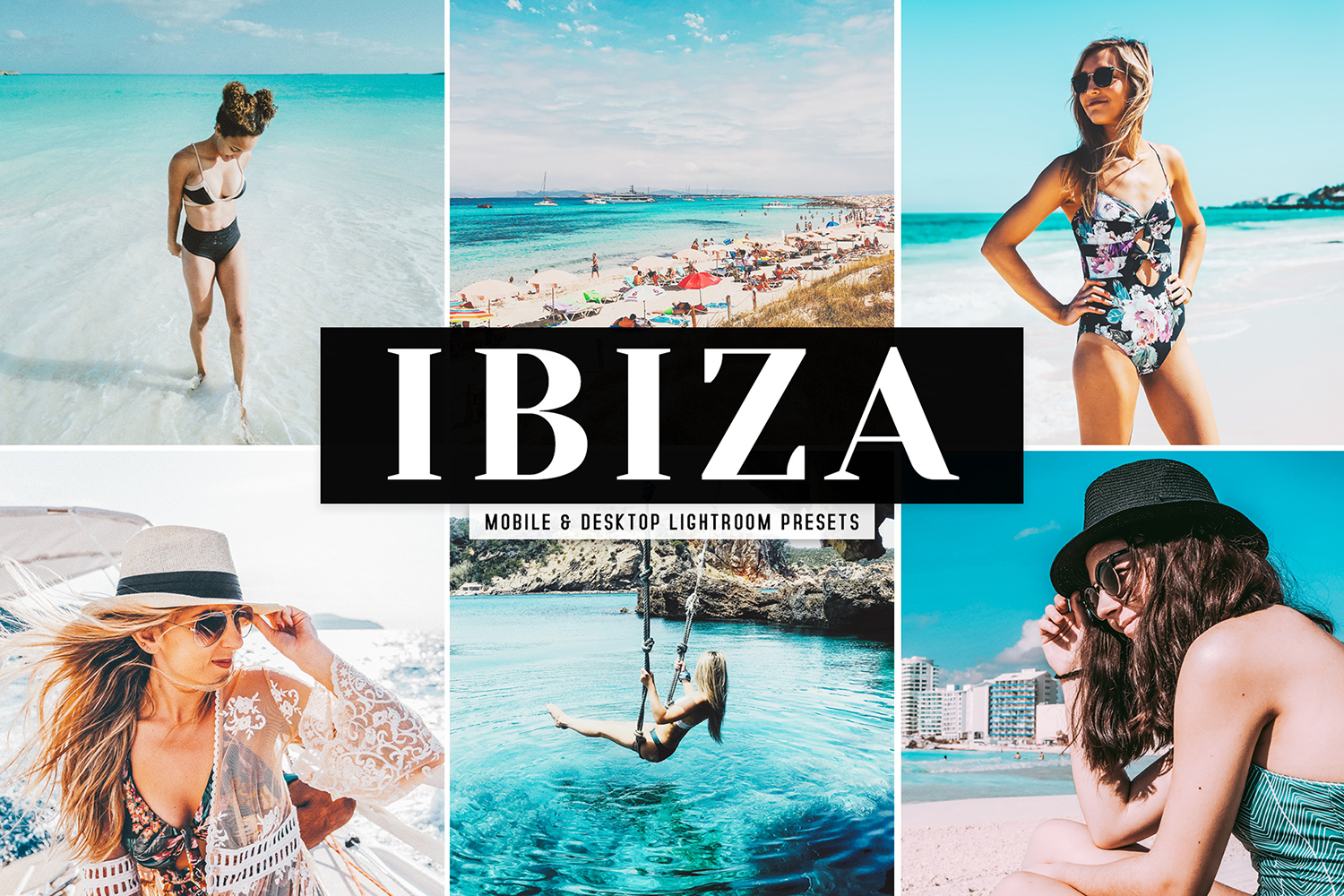 Ibiza Mobile & Desktop Lightroom Presets example image 1