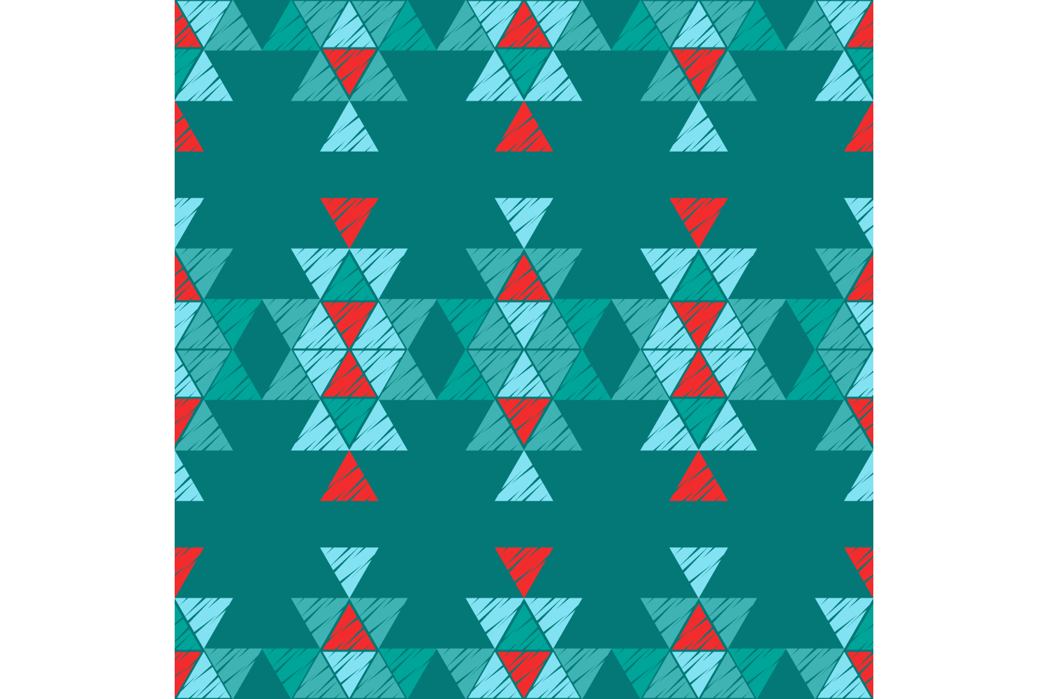 Ethnic boho ornament. Set of 10 seamless patterns. example image 2