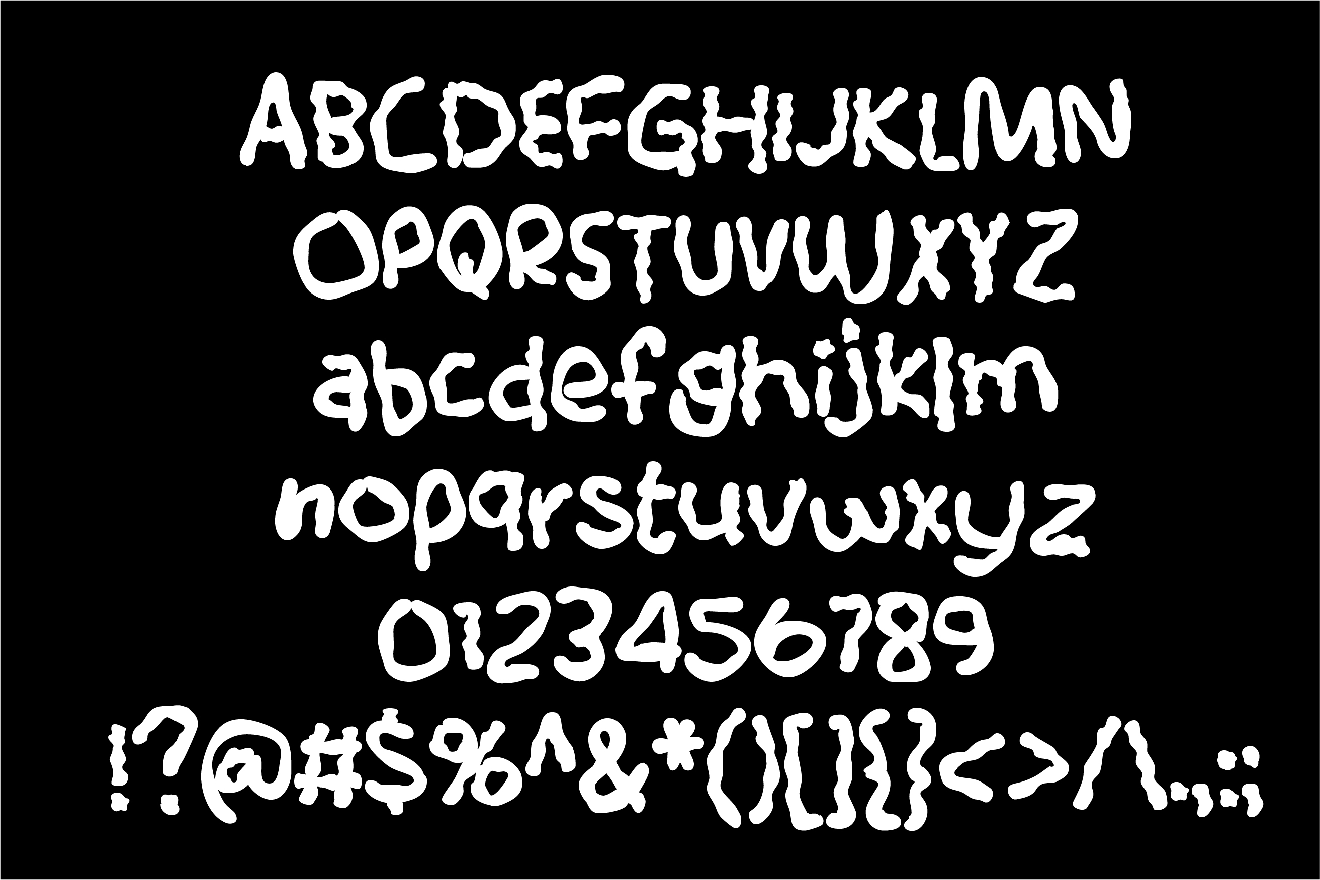 ZP White Glue Font Duo example image 4