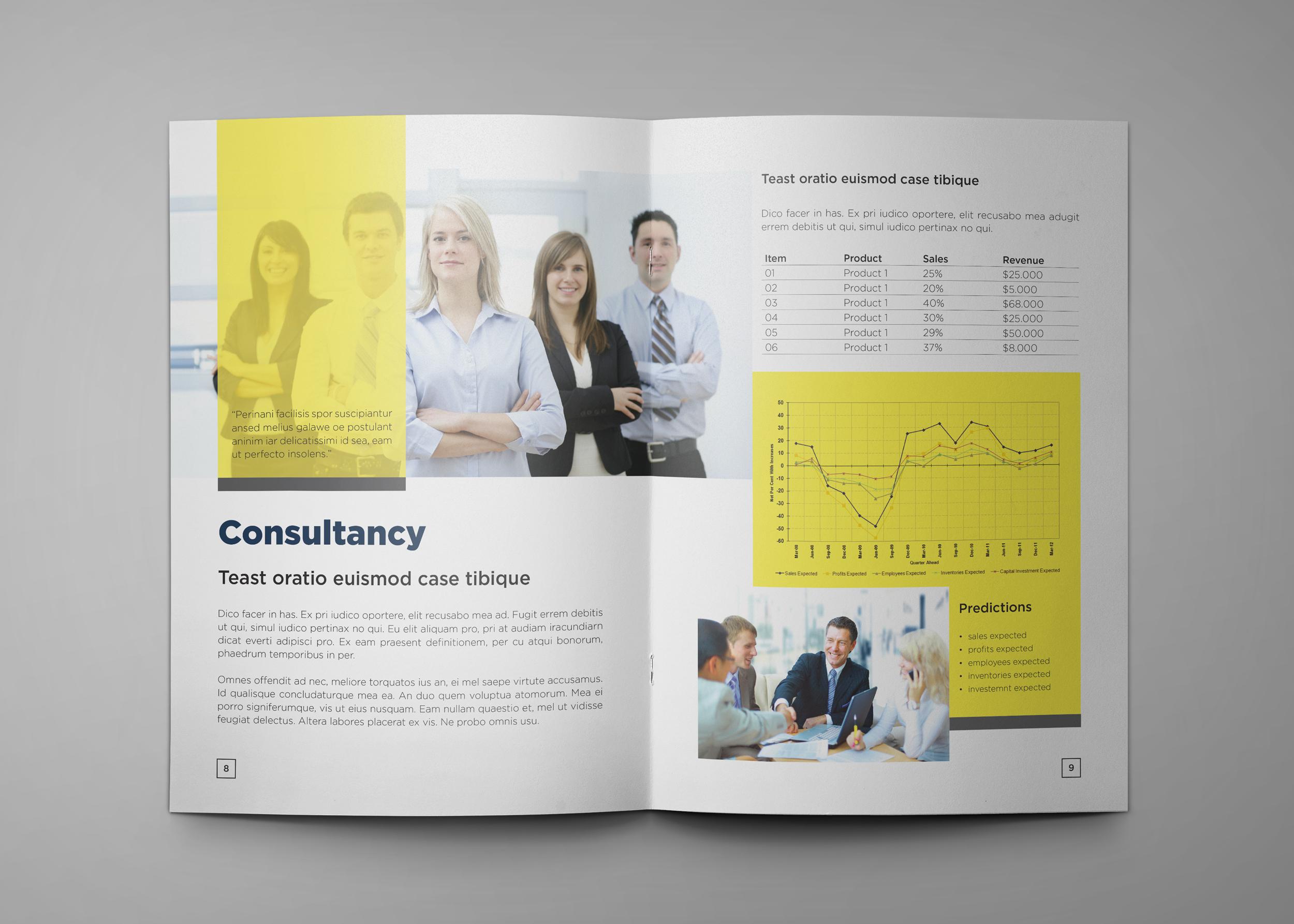 Corporate Company Profile example image 6