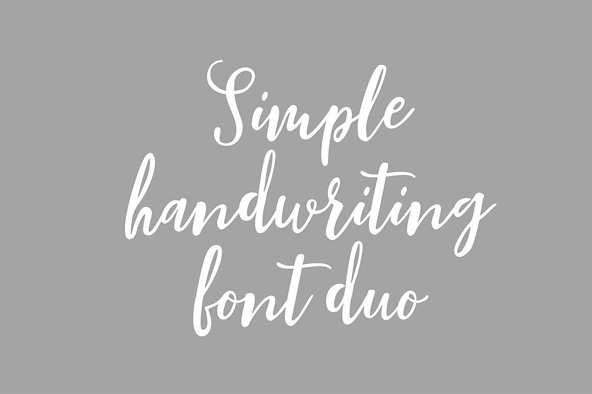 Blishfully Font Duo example image 7
