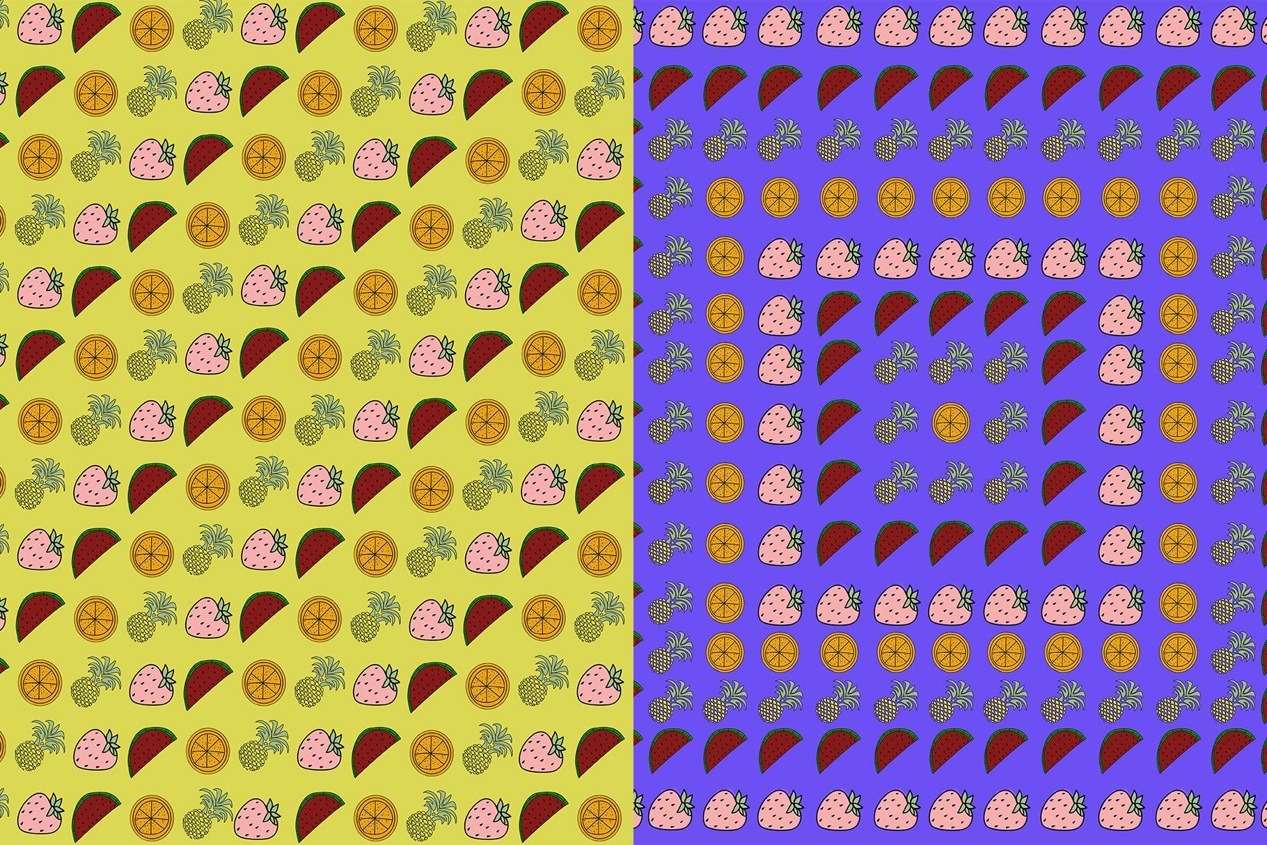 10 Fruit Patterns example image 11