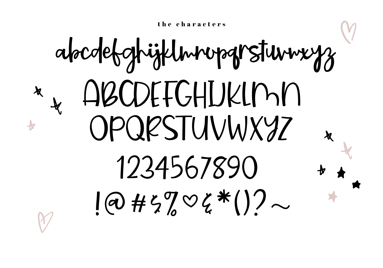Starburst - A Bold Script Font example image 7