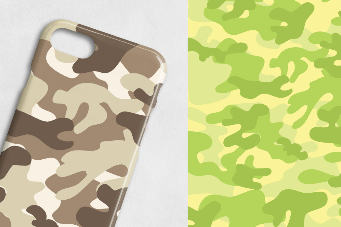 PRETTY-CAMO-PAPERS, digital papers example image 3