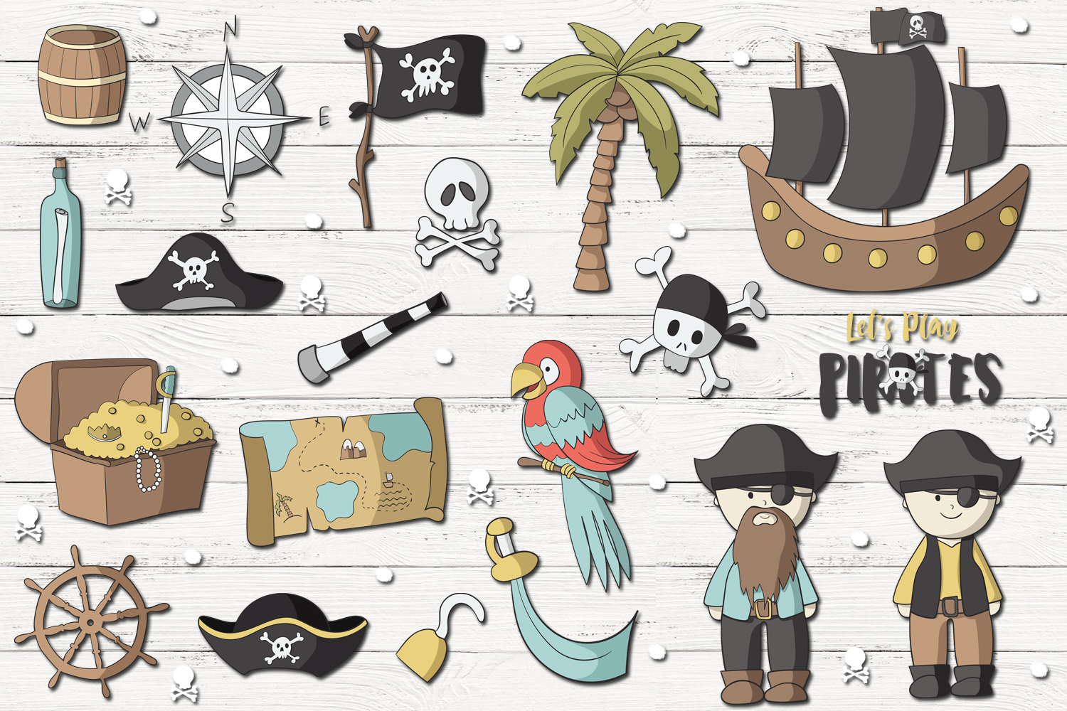 Lets Play Pirates example image 2