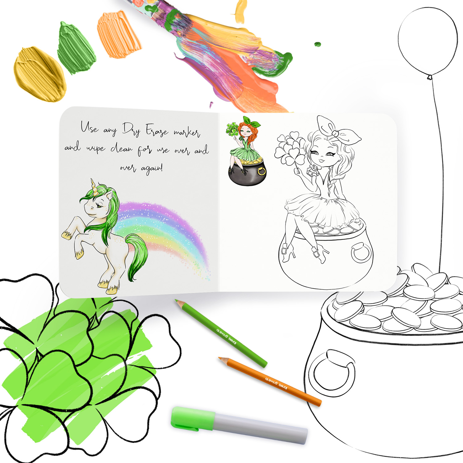 Its Your Lucky Day - Doodles example image 5