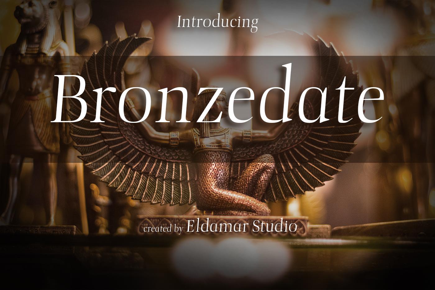Bronzegate Font example image 1