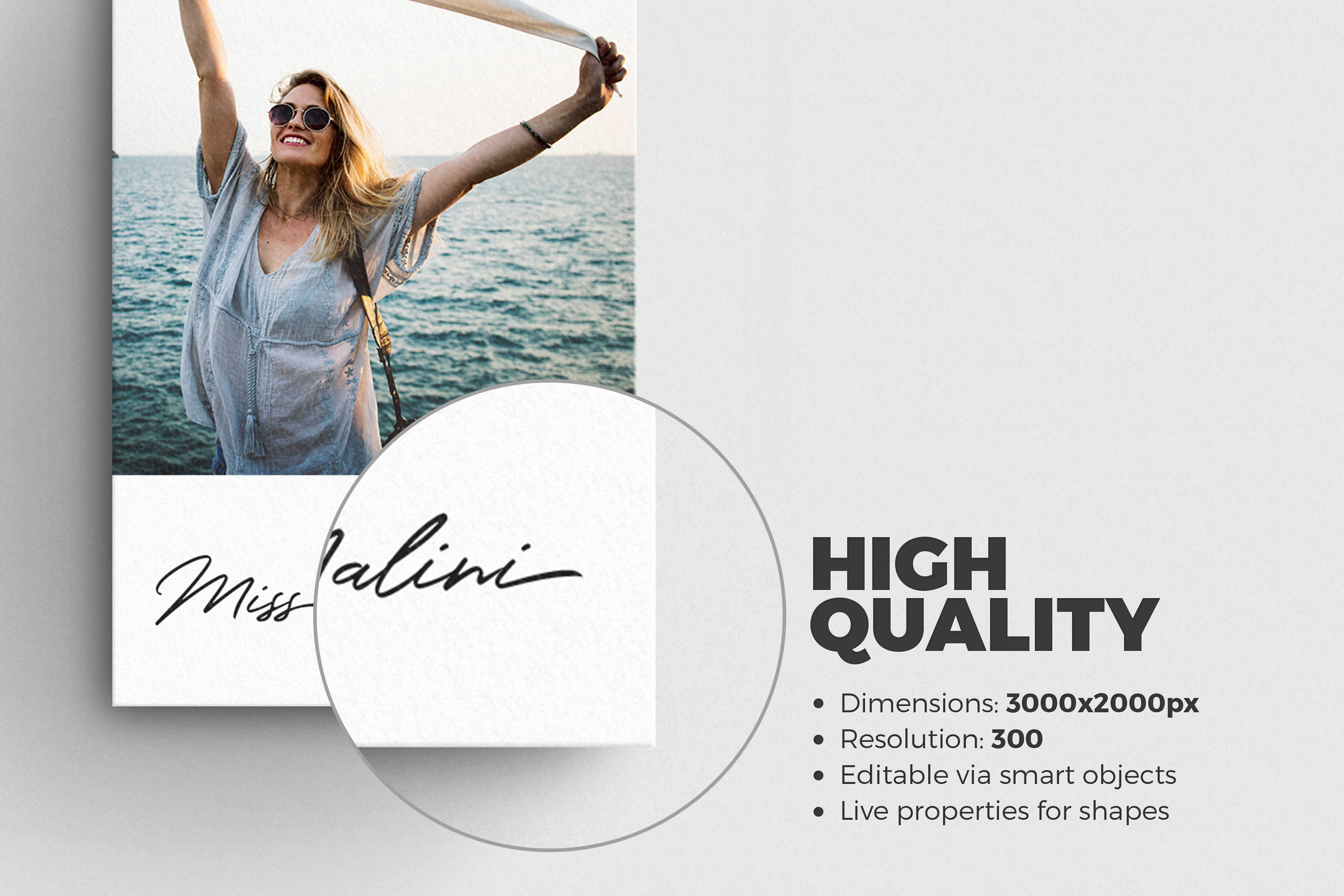 4 Business Card MockUps example image 2