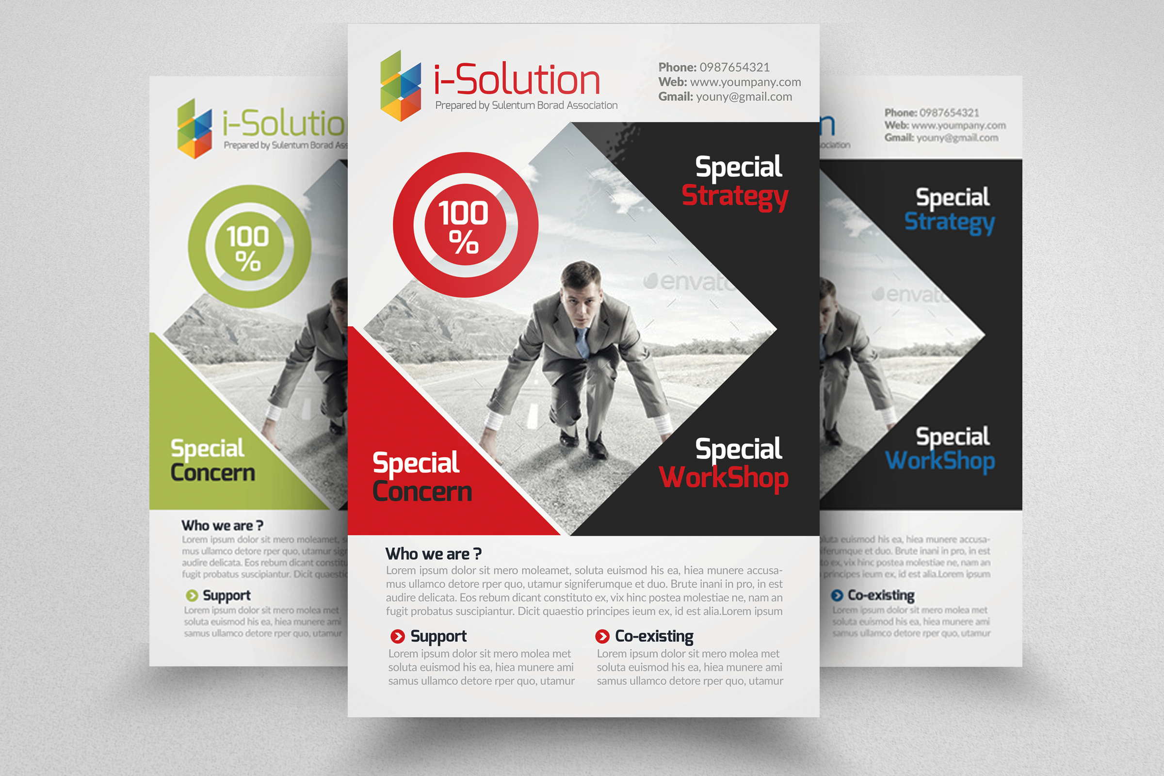 Creative Business Flyers example image 1