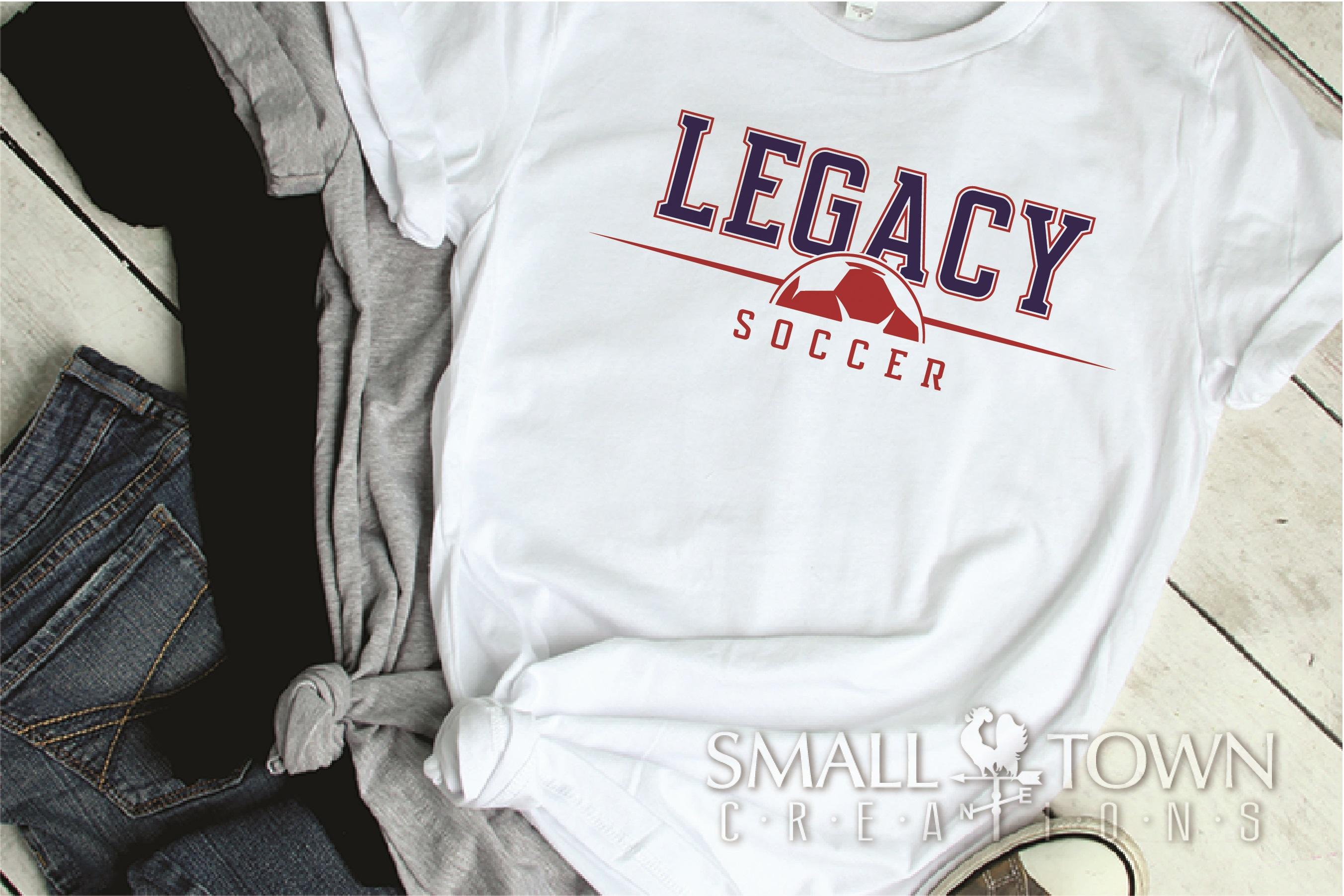 Legacy, Soccer, Sports, Team, logo, PRINT, CUT & DESIGN example image 2