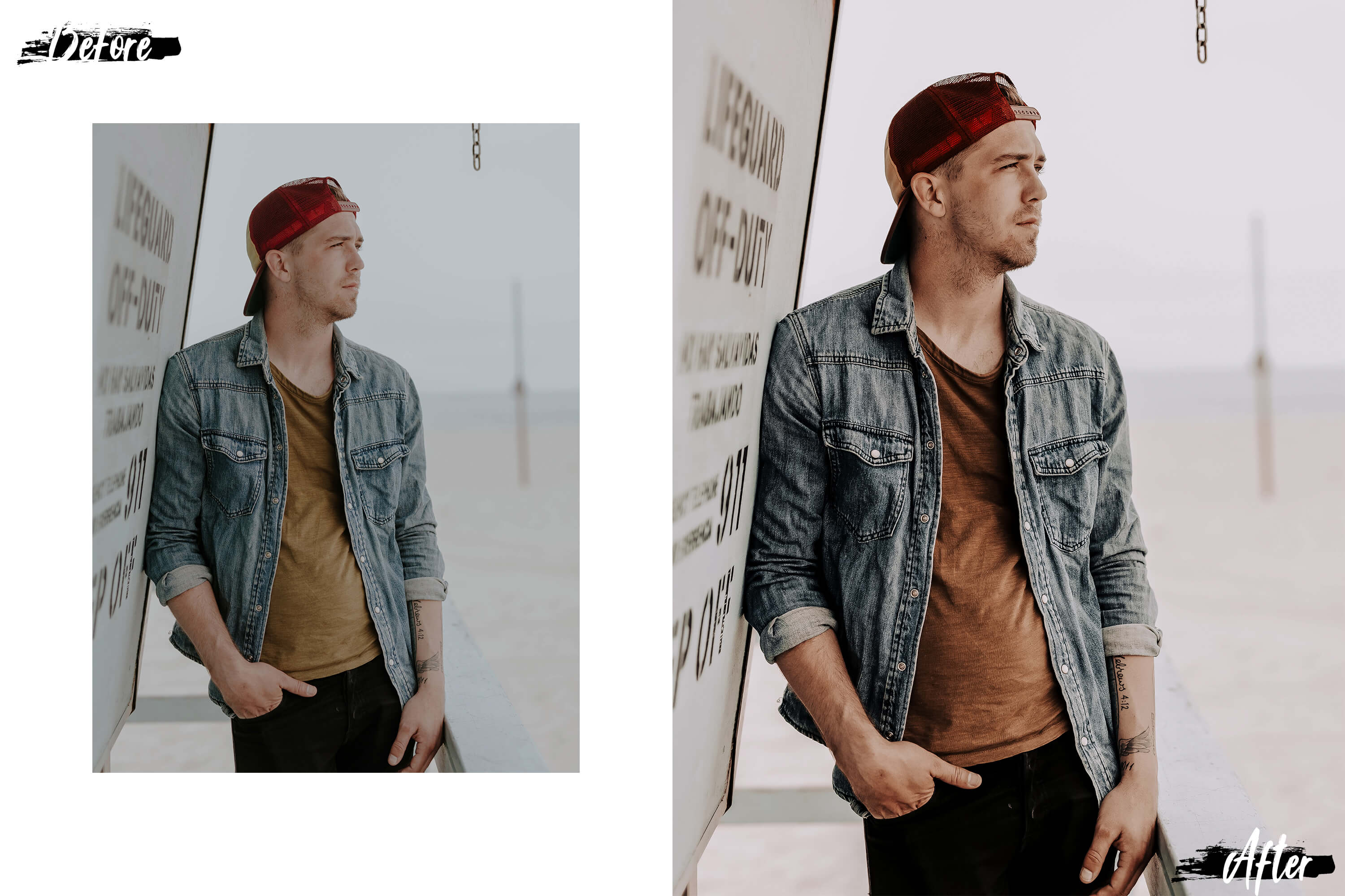 05 Gentleman Photoshop Actions, ACR and LUT presets example image 6