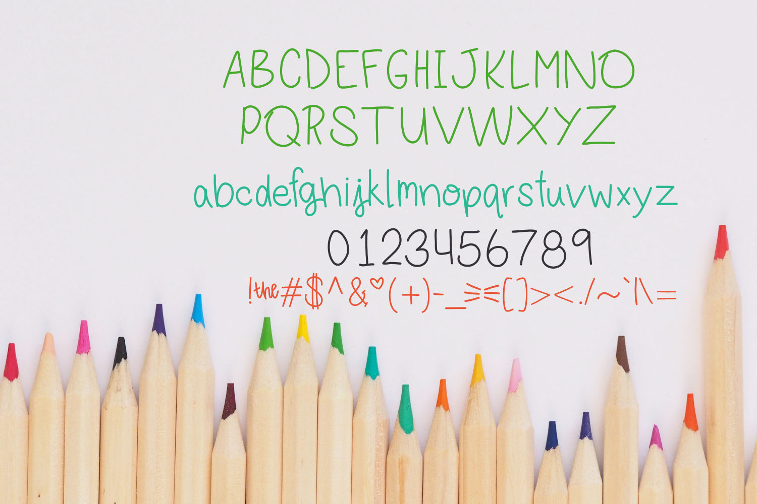 Elemenope, A fun handwritten font example image 2